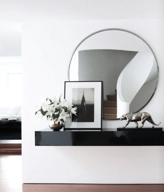 RALPH LAUREN HOME DESIGN NEW YORK ROUND MIRROR INTERIOR DESIGN BLOG ELLE DECOR, http://www.elledecor.com/image/tid/5842?page=4