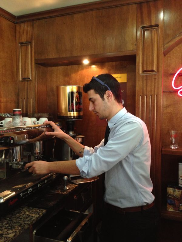 Working with the best coffee company-Barbera Caffe