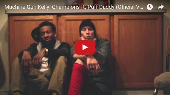 Watch: Machine Gun Kelly: Champions ft. Puff Daddy See lyrics here: http://machinegunkellylyrics.blogspot.com/2016/04/champions-lyrics-machine-gun-kelly-feat.html #lyricsdome