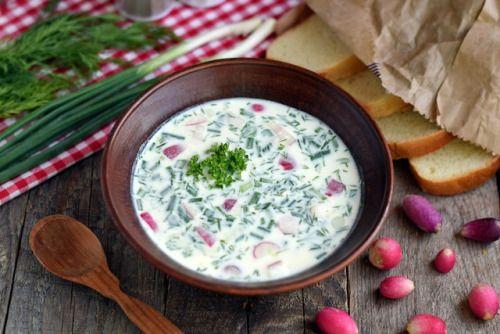 Okroshka: Russian Summer SoupFollow for recipesGet your FoodFfs  Mein Blog: Alles rund um die Themen Genuss & Geschmack  Kochen Backen Braten Vorspeisen Hauptgerichte und Desserts