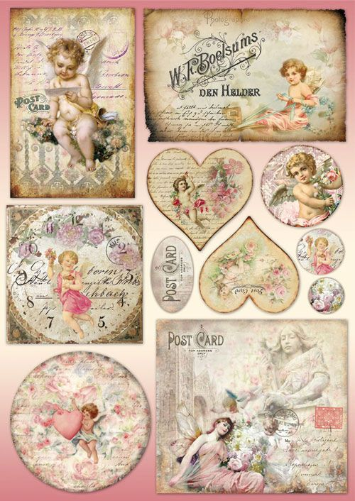 25 best ideas about decoupage paper on pinterest collage sheet vintage roses and vintage. Black Bedroom Furniture Sets. Home Design Ideas
