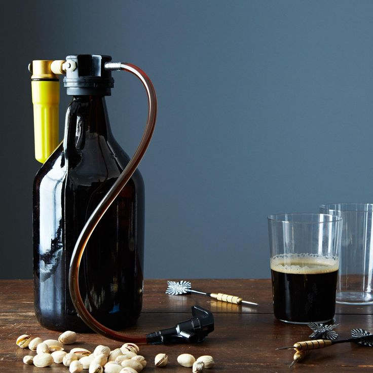Change how you drink beer—and keep it fresh longer. This clever device uses a CO2 cartridge to ensure that the beer in your growler remains nice and carbonated, so you can enjoy a growler for days.