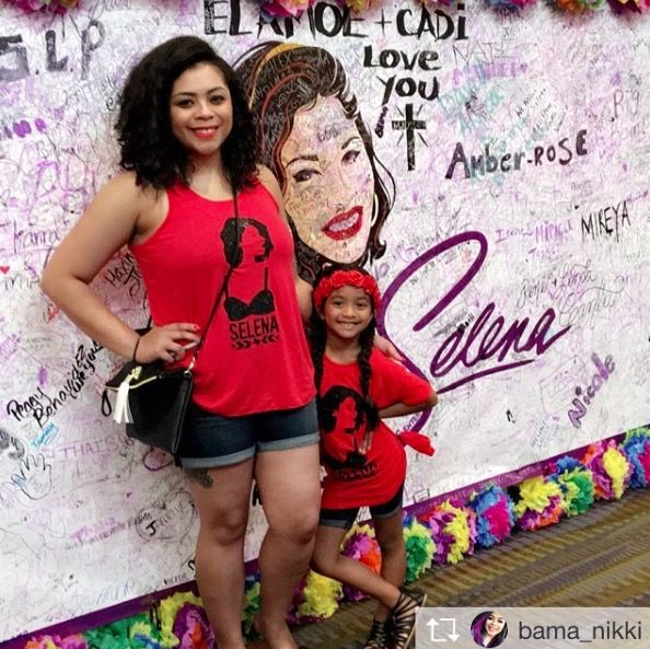 """The goal isn't to last forever, but to create something that is."" As a young girl, Selenas confidence was EVERYTHING! Now as an adult and small business owner, what better way to continue Selenas leg"