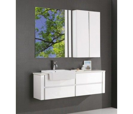 "VANITY 1500W x 370D $1800ish on sale Nova Decko ""Napola"" but maybe too shallow? http://www.novadeko.com.au/napola-1500mm-wall-mounted-soft-closing-white-vanity-cabinet"