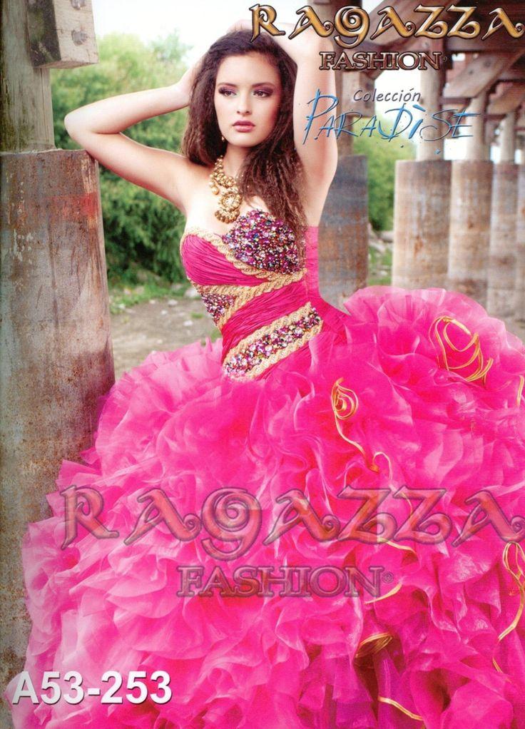 Ragazza Fashion Quinceanera Dress Style A53-253