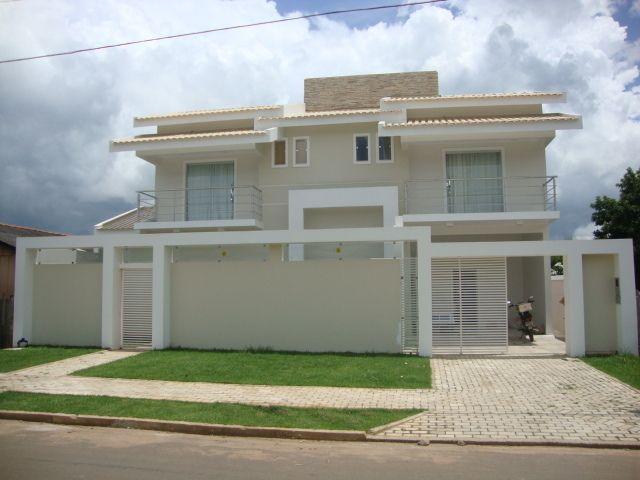 Fachadas de casas modernas com grade inspiraci n de for Fachadas de casas e interiores