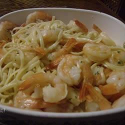 Garlic Prawn Linguine @ allrecipes.co.uk