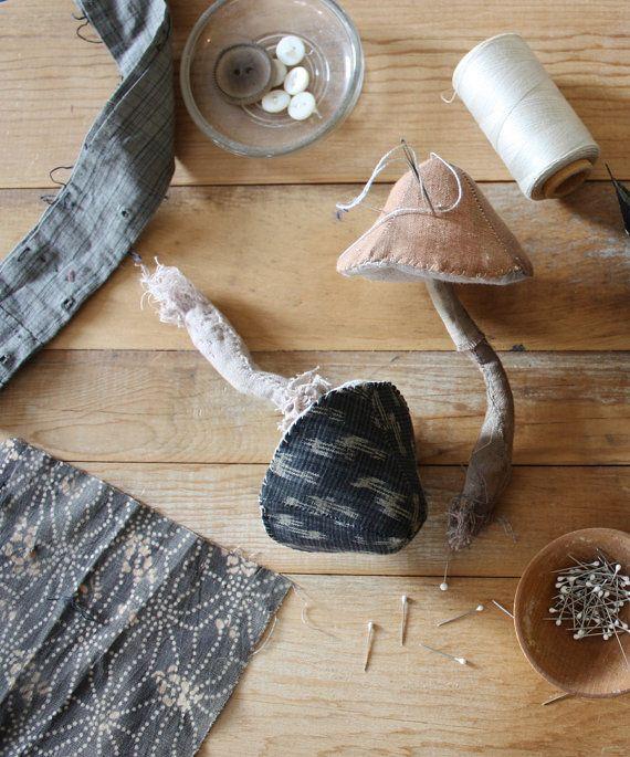 a sewing pattern : little mushroom от annwood на Etsy