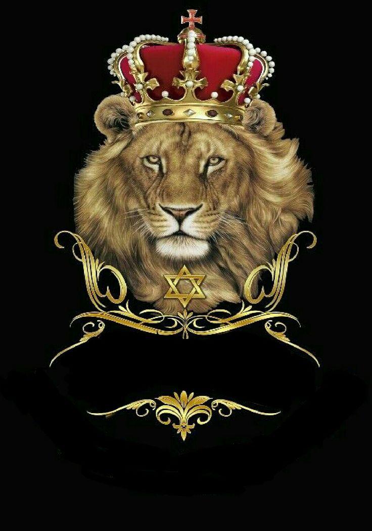 сообщила матери, картинка на обои лев в короне его двухсторонний