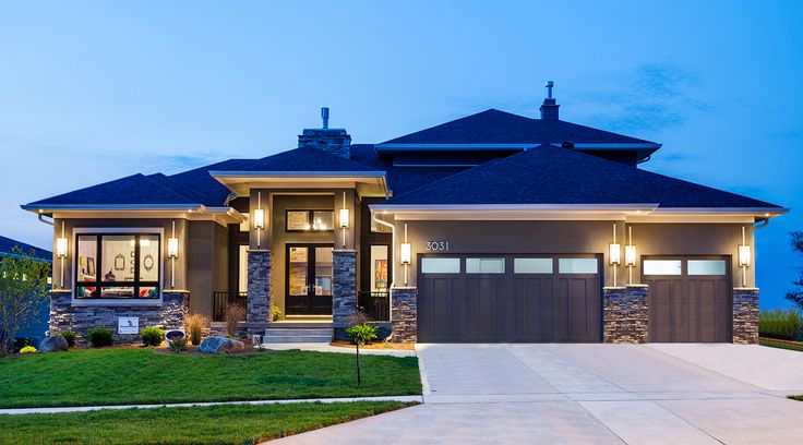 25 best ideas about prairie style homes on pinterest for Prairie style house plans luxury