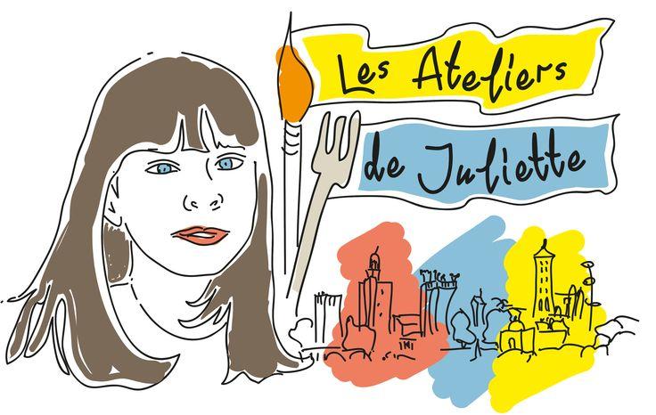Nouveau logo pour les Ateliers de Juliette à Uzès.  https://www.facebook.com/lesateliersdejulietteuzes
