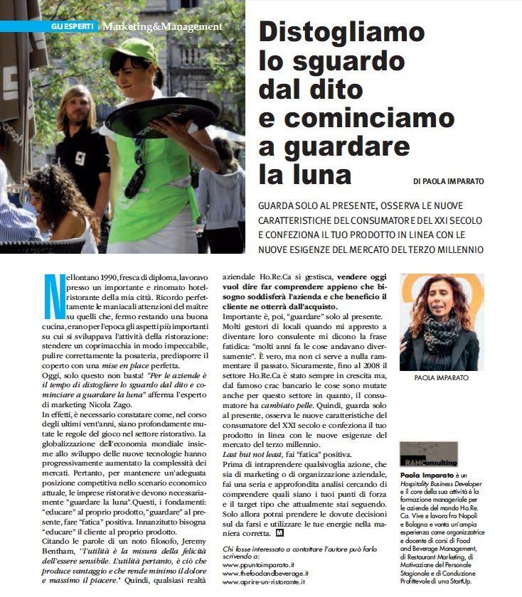 Articolo per Mixer Planet Paola Imparato (Aprile)