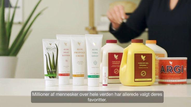 Forever Products_DK. Vores produkter Ja, vi indrømmer det. Vi er sindsygt stolte over vores produkter. Vil du vide hvorfor? Se filmen her.