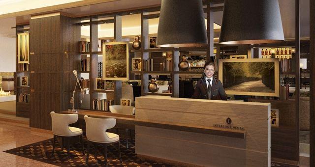 intercon wellington design impression intercontinental concierge desk millwork design pinterest hotels search and exclusives - Concierge Desk Design