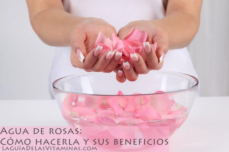 Dentro de los principales beneficios del agua de rosas están: mejorar la salud de la piel, descongestionar, desinflamar, aliviar el dolor de cabeza, es relajante, funciona como tratamiento efectivo para eliminar manchas, etc. su elaboración