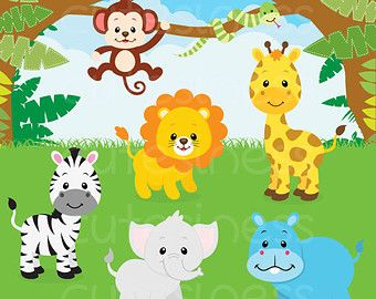Cute Jungle Animals Baby Shower Cake Jpg Baby Shower