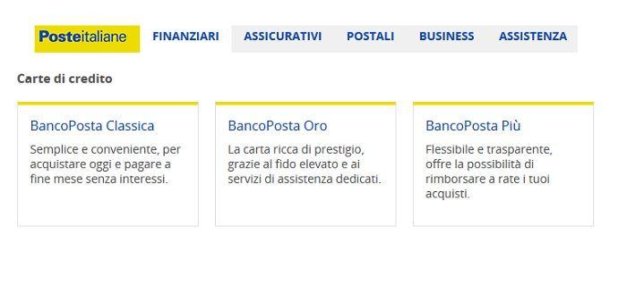 carta-di-credito-poste-italiane