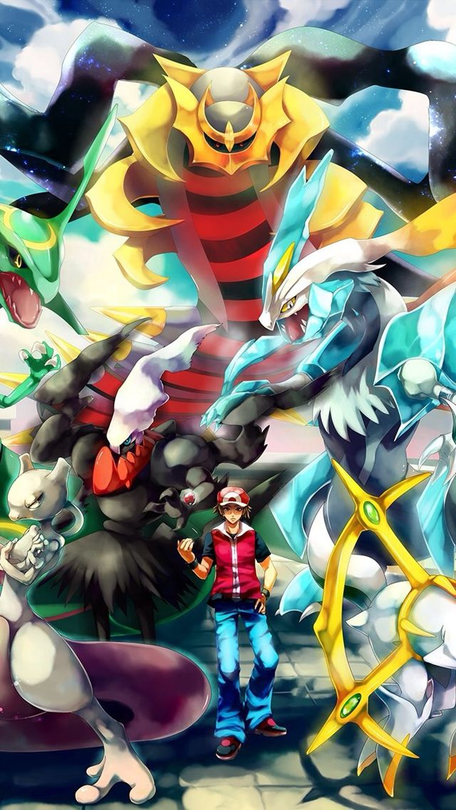 Pokemon trainer Red. 12 Pokemon Trainers Wallpapers for