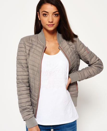 Superdry - Blouson bombardier Vintage Fuji - Vestes et manteaux pour Femme