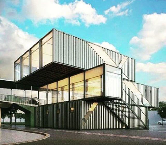 Les 2561 meilleures images du tableau containers sur for Architecture conteneur