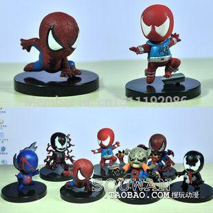 Он удивительный человек паук 2  фигурку игрушки, Игрушки для детей, Паук пвх рисунок куклы, Чудо игрушки