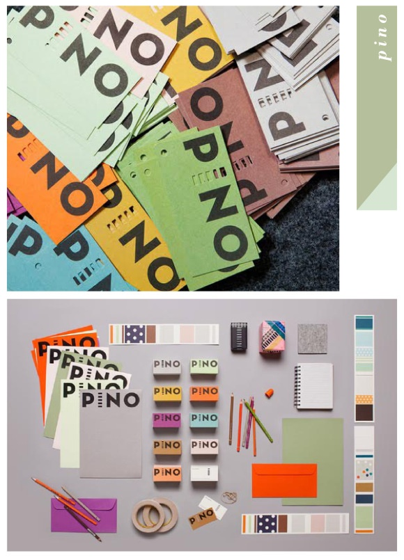 Pino brand  identity