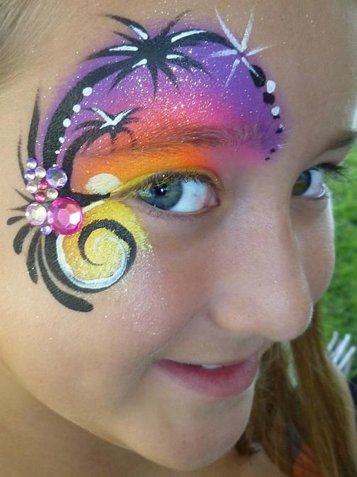 372 Best Images About Face Painting Eye Design On