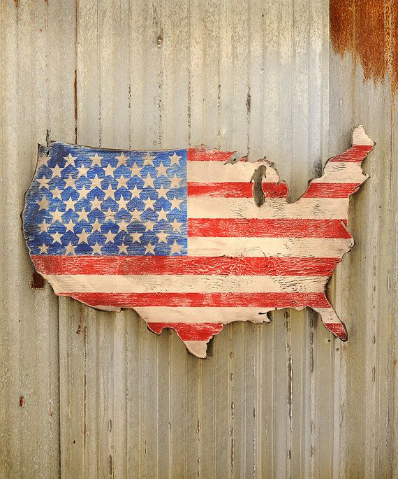 Us Map Wall Art best 25+ wooden flag ideas that you will like on pinterest