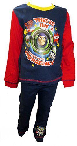 Toy Story Buzz Lightyear InterGalactic Little Boys Pyjamas 18-24 Months @ niftywarehouse.com #NiftyWarehouse #Toy #Story #Movie #ToyStory #Pixar