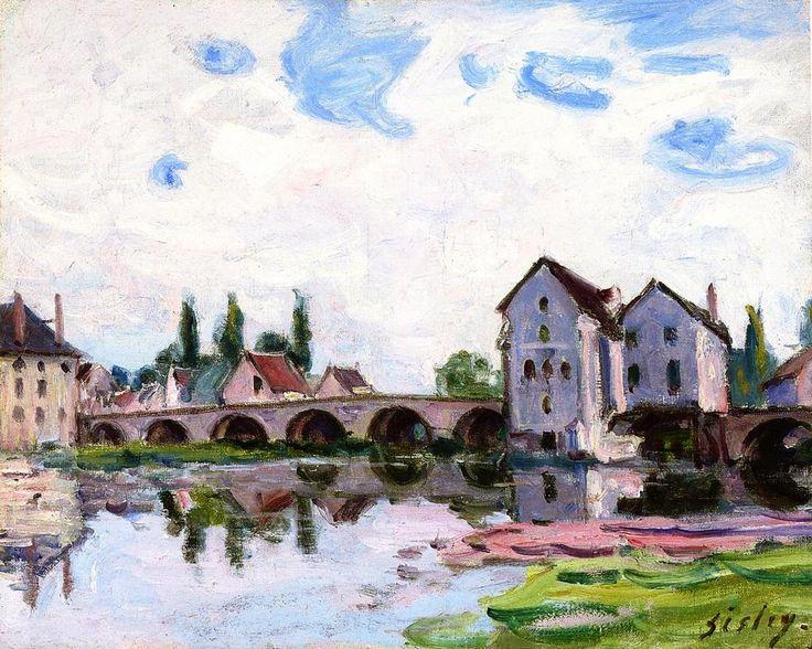 {title} (avec images) Moret sur loing, Impressionnisme