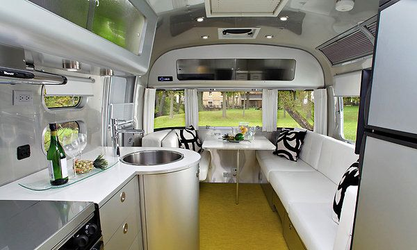 Airstream by Christopher Deam: Airstream Sterling, Airstream Interiors, Travel Trailers, Airstream Dreams, Modern Houses, Roads Trips, Houses Plans, Modern Interiors, Airstream Trailers