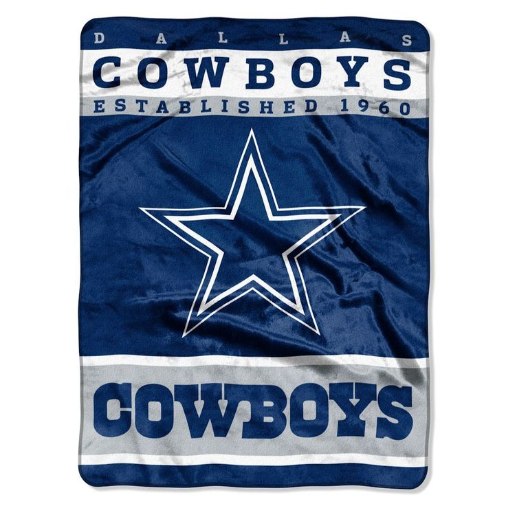 Dallas Cowboys 60″x80″ Royal Plush Raschel Throw Blanket – 12th Man Design – ResellerHub.store