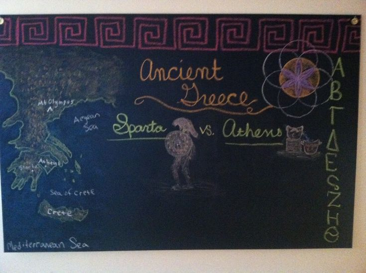 best age ancient myths images chalkboard day 2 of ancient the comparison between sparta and athens and the a