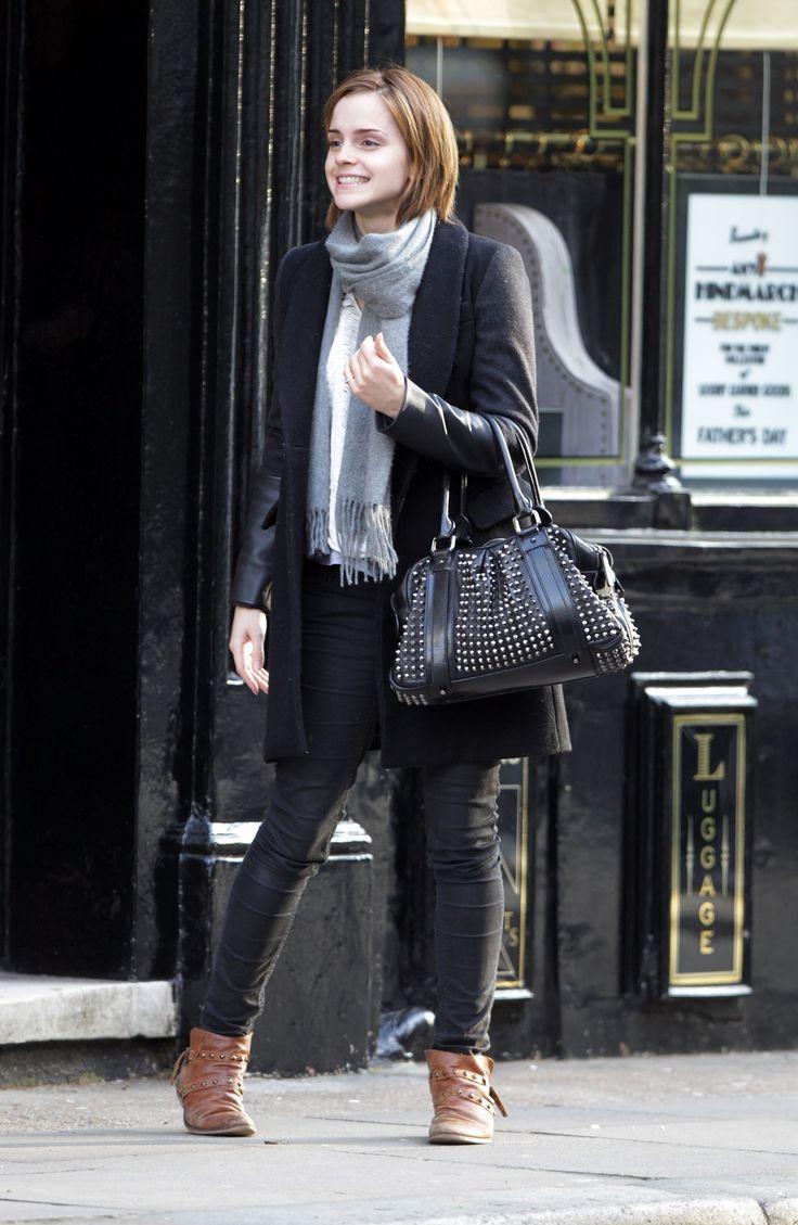 I love Emma Watson's casual look! #justfabonline