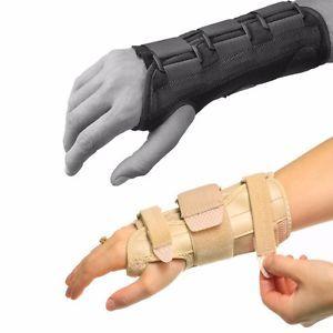 a soporte de muneca tunel carpiano artritis brace ferula ajustable mano izquierda derecha