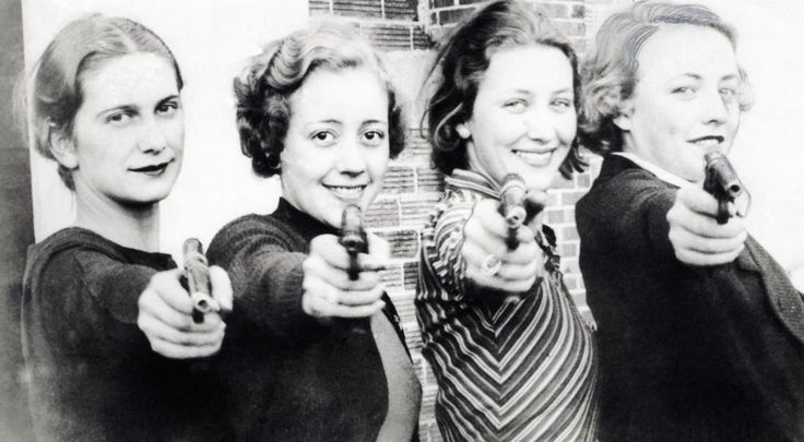 Lady Champions of the Missouri University Shooting Club by  Unknown Artist