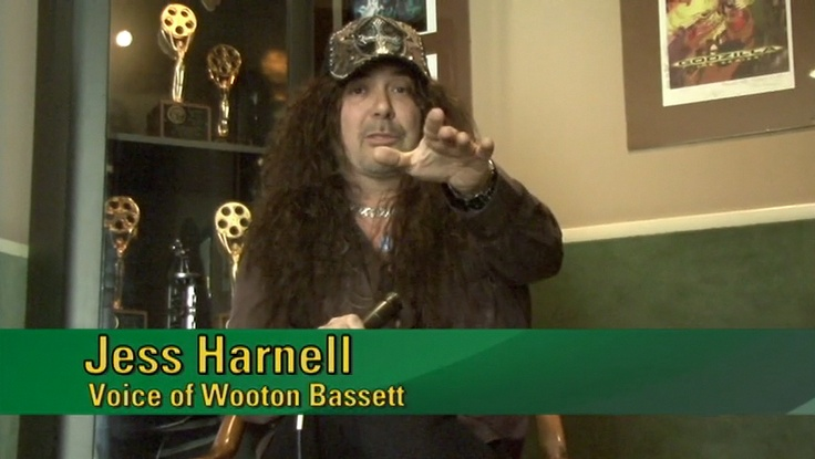 Jess Harnell as Wooten Bassett in Adventures in Odyssey!!!! and many other epic cartoon characters.