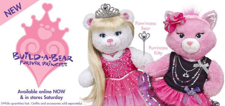 Furever Princess #buildabear