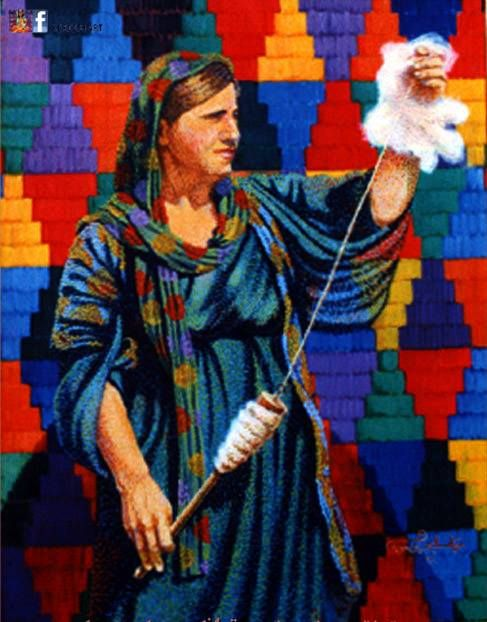 Kurdish art - Art work ( painting ) of Twana Marjan 1977