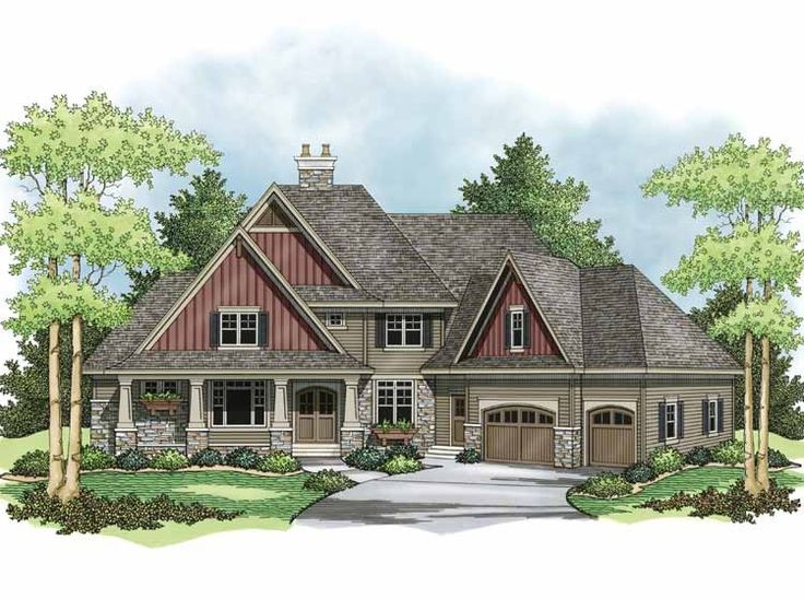 965 Best House Plans Images On Pinterest | Home Plans, Craftsman Homes And  Dream House Plans
