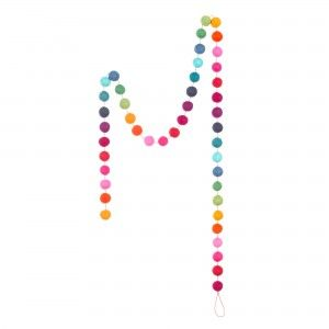 Laluque Garland: urbana.co.uk... make with pompoms? super cute!