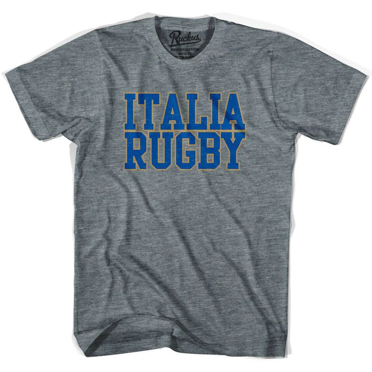 Italy Italia Rugby Nations T-shirt
