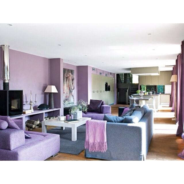 17 meilleures images propos de d co radiant orchid couleur 2014 sur pinterest mauve. Black Bedroom Furniture Sets. Home Design Ideas