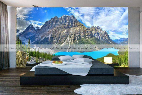 3D Yatak Odası Duvar Kağıdı 20