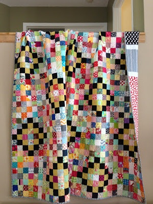 crazy mom quilts: finish it up Friday, 12/14/12~like the black...