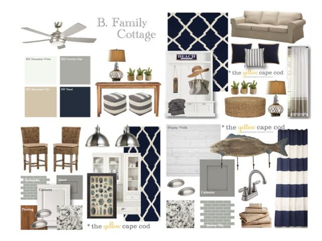 The Yellow Cape Cod  Family Lake Cottage Design Plan. 365 best images about Design Boards   Ideas on Pinterest   Master