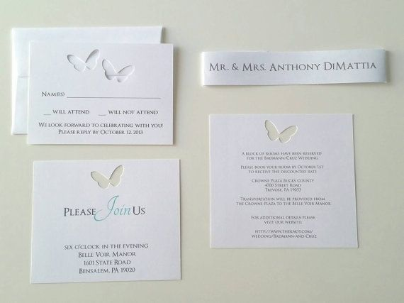 Cheap Butterfly Wedding Invitations: Best 25+ Butterfly Wedding Invitations Ideas On Pinterest
