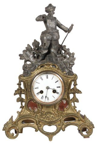 C.1890 French Mantle Clock $595.00