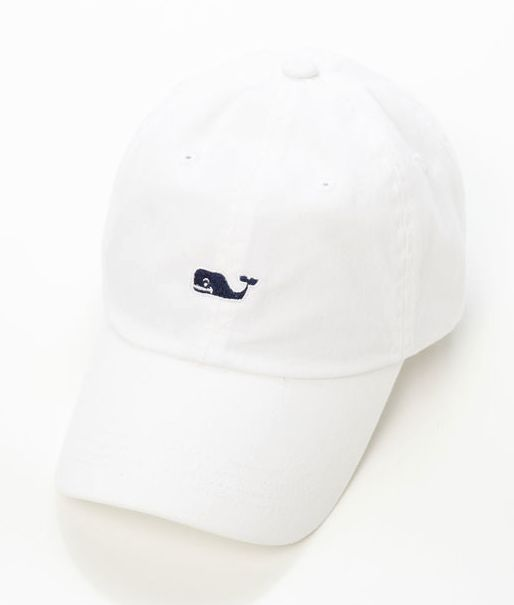 #ALLDESIGNERSTAPLES Pinterest - @houstonsoho #WHITE @vineyardvines #BLUE Whale Logo Baseball Dad Cap