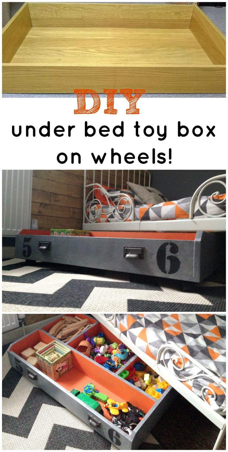 IKEA PAX DRAWER TO UNDER BED TOY STORAGE ON WHEELS! | Grillo Designs